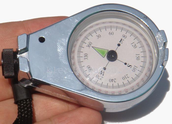 户外导航工具 礼品指北针 罗盘指南针 内置阻尼油